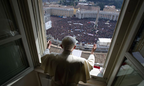 Pope Benedict Blessing