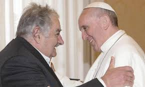 Pope Francis and friend