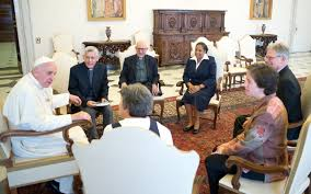 Pope Francis meets Religious